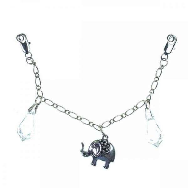 Charivari Elefant mit Kristall Tropfen