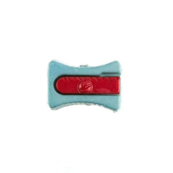 Kinderknöpfe kaufen Bleistiftspitzer-KK-152-blau-4