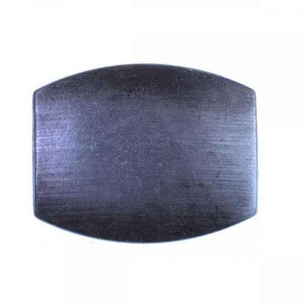 Gürtelschnalle altsilber schwarz SM-8