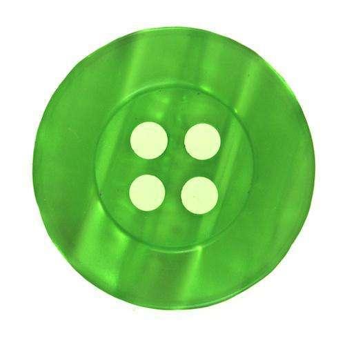 Knöpfe mit glanz grün KGR-17
