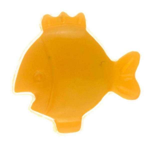Kinderknöpfe kaufen Fisch KK-59 orange