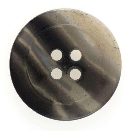 Knöpfe 4 Loch grau beige meliert KG-75