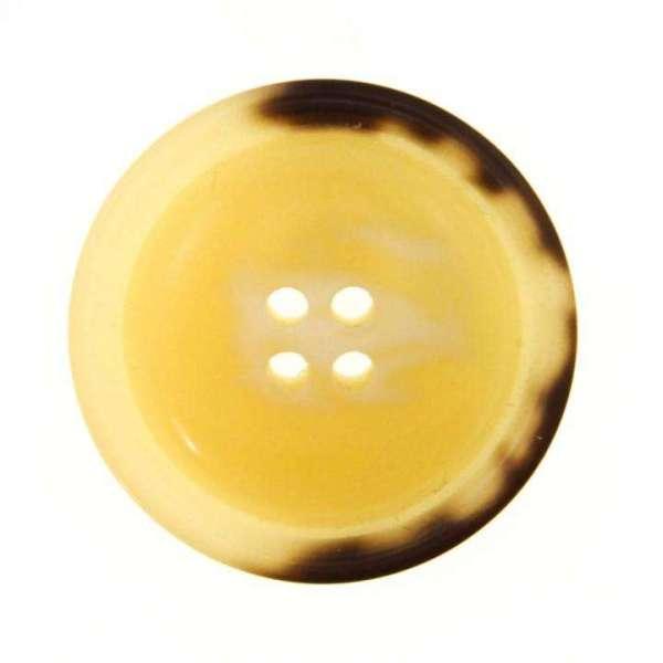 Knöpfe Horn Imitat HI-2 beige