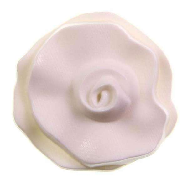 Knöpfe kaufen Blumen Knopf mit Oese