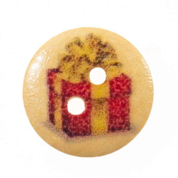 Knöpfe mit Weihnachtsmotiv hk-136-7