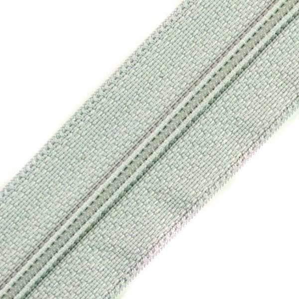 Reißverschluss 3mm Spirale hell grau