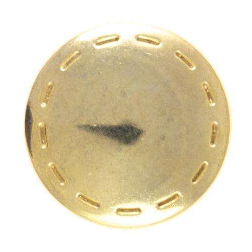 Druckknöpfe Nahtoptik gold silber NK-188g
