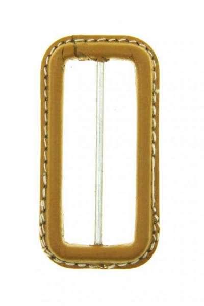 Leder Gürtelschnalle S-LE-6-beige