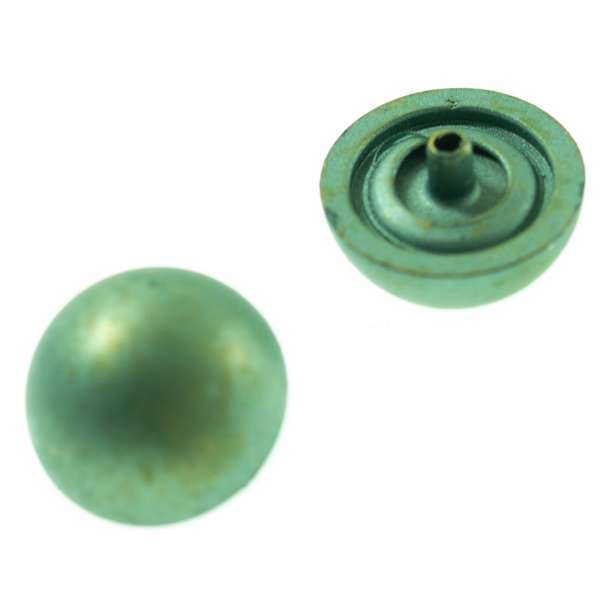 Druckknöpfe Halbkugel nk-191-grün