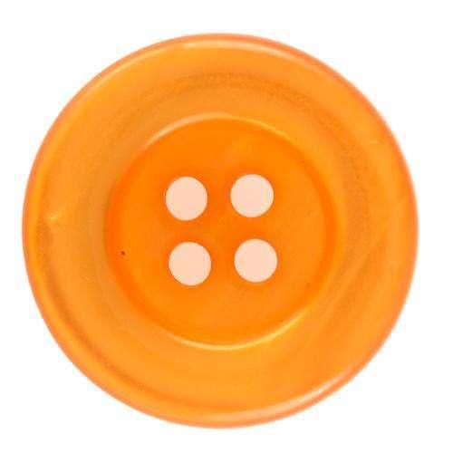 Knöpfe mit Schimmer orange KO-91