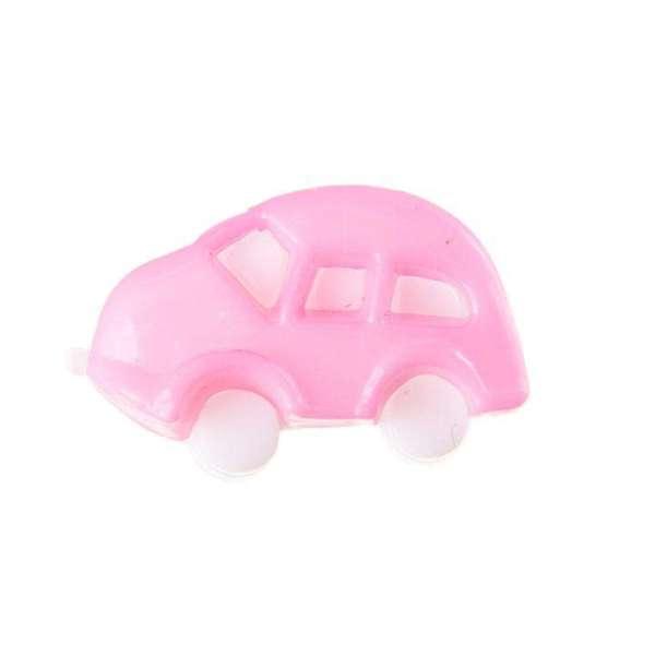 Kinderknöpfe kaufen Auto KK-70rosa