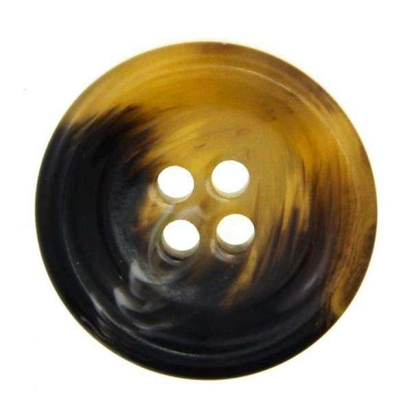 Knöpfe Horn Imitat HI-7 braun beige