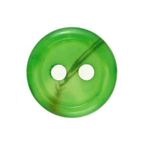 Knöpfe mit Rand grün KP-87grue