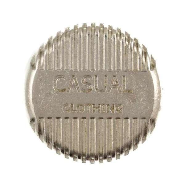 Druckknöpfe Casual nk-58-silber