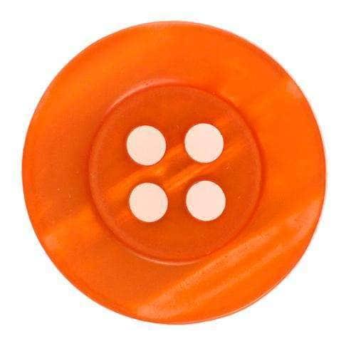 Knöpfe mit Schimmer orange KO-80