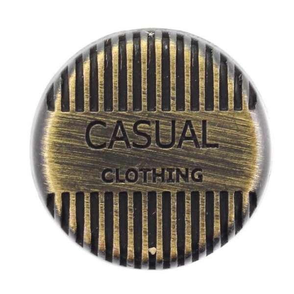 Jeansknöpfe kaufen Jeansknopf Casual NJ-52-messing