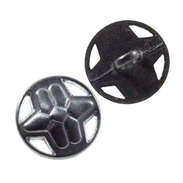 Knöpfe mit Stern Muster nickel tk-34