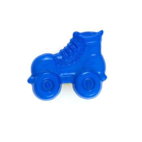 Kinderknöpfe kaufen Rollschuh KK-56blau