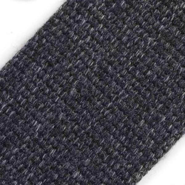 Taschengurtband schwarz grau