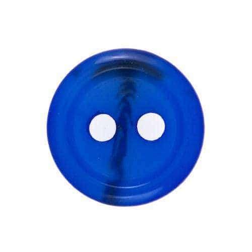 Knöpfe mit Rand blau KP-87bl