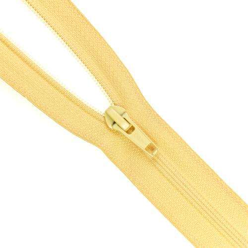 1 Weg Reissverschluss RV-2 gelb