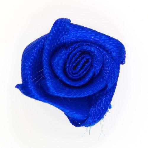 Applikation Rose blau