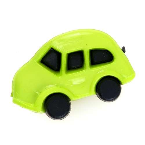 Kinderknöpfe Auto kk-52gruen