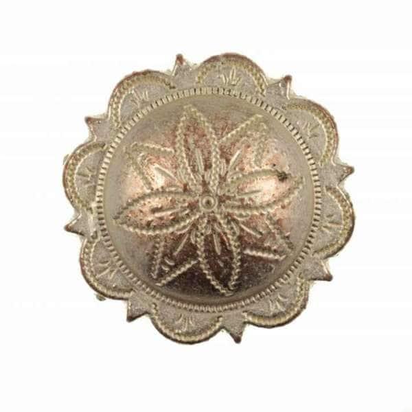 Druckknöpfe Blume nk-10-kupfer-silber