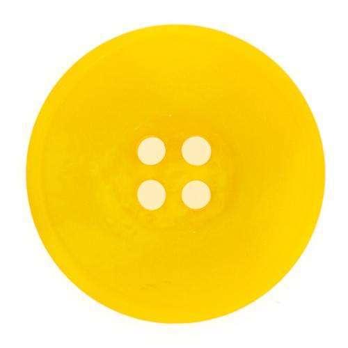 Knöpfe mit sehr breitem Rand gelb KGL-22