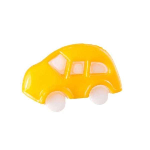 Kinderknöpfe kaufen Auto KK-70d.gelb