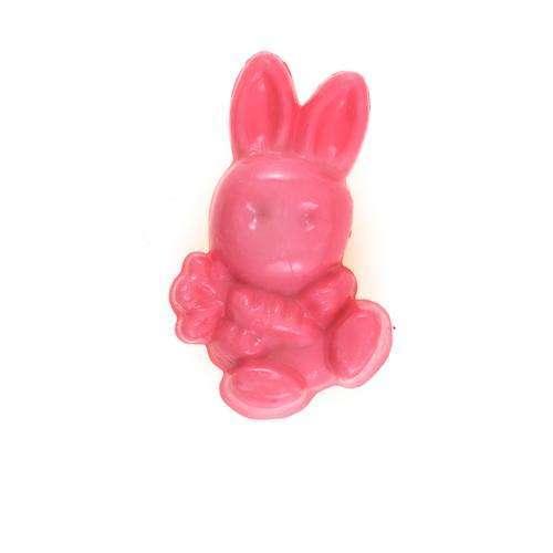 Kinderknöpfe kaufen Hase KK-rosa