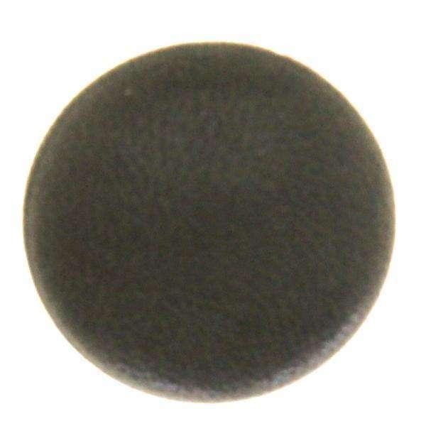 Lederbez. Polsterknopf schlamm grün SFPO-10