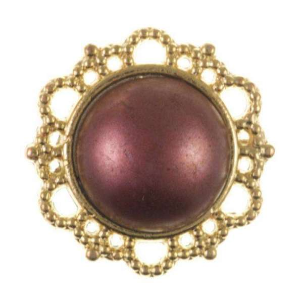Knöpfe kaufen Schmuck Knopf mit Perle Mk 95g
