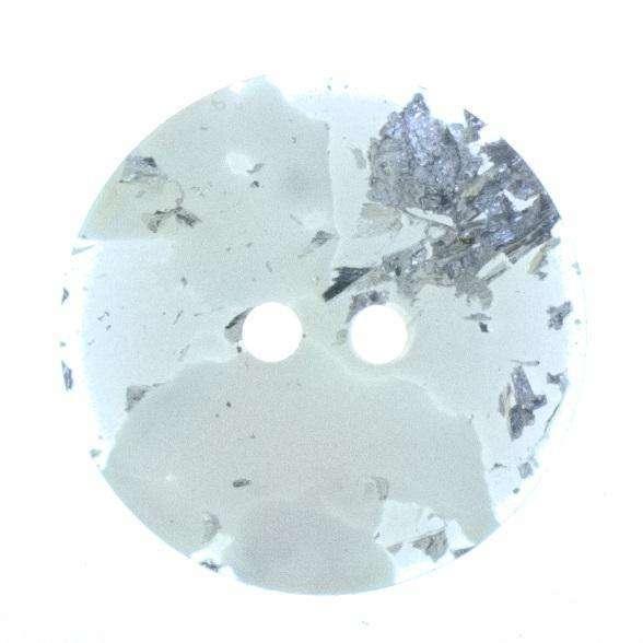 Knöpfe mit silber Glimmer KN-29
