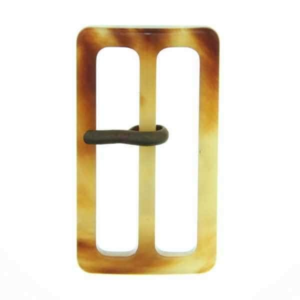 Gürtelschnalle S-22 braun beige