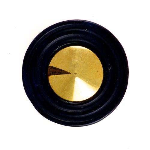 Blusen Knöpfe kaufen schwarz gold BL-21schw