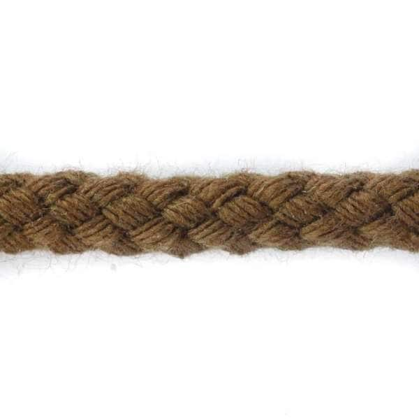 Kordel Baumwolle braun col-8