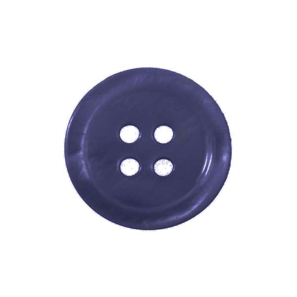 Hemdköpfe kaufen! 4-Loch Knöpfe aus Perlmutt marine-blau