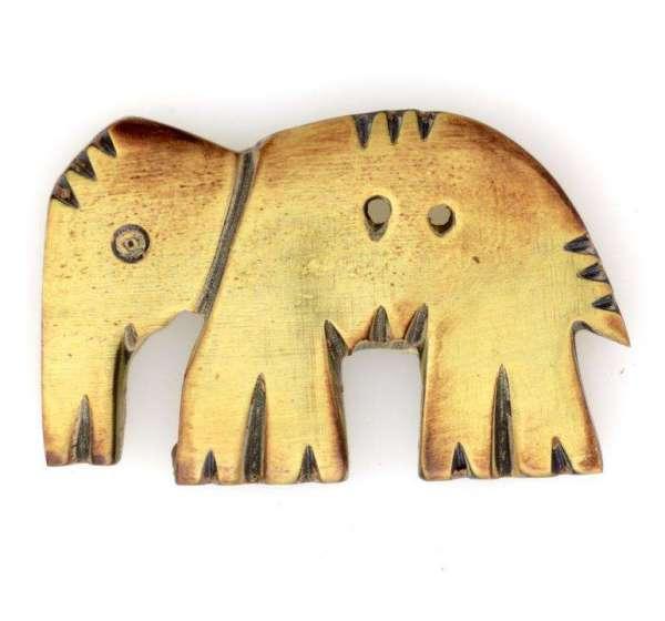 Hornknöpfe Elefant HK-131