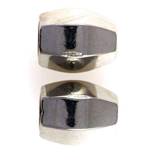 Sechseckige Kordelenden aus Metall KOE-3s Variante
