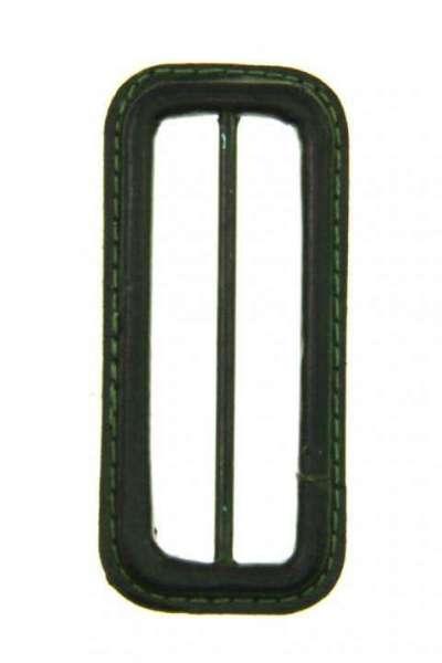 Leder Gürtelschnalle S-LE-1-gruen