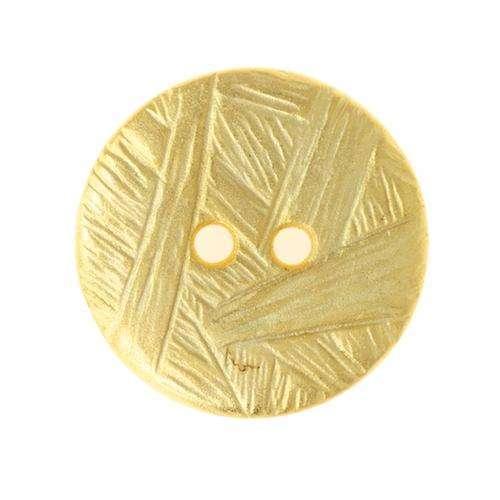 Knöpfe mit Musterung gold MK-257g