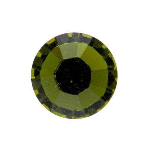Straßsteine Hotfix zum Aufbügeln SS16-olivine