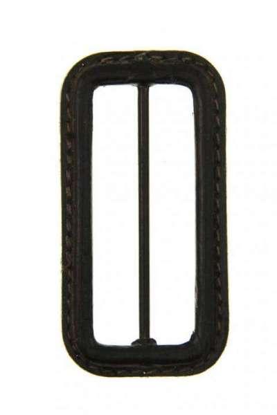 Leder Gürtelschnalle S-LE-5-A-schwarz