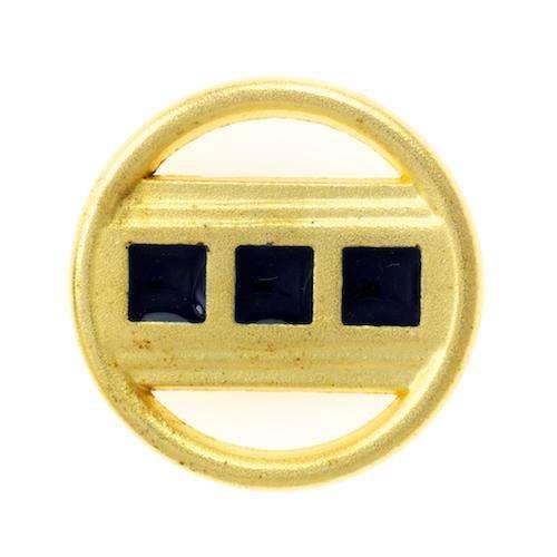 Metallknöpfe mit durchbrochener Oberfläche MK-116g