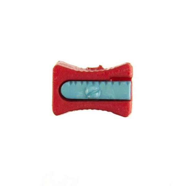 Kinderknöpfe kaufen Bleistiftspitzer-KK-152-rot-4